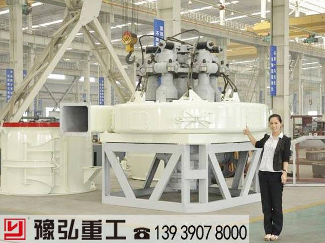 客户考察MTW215欧版磨粉机